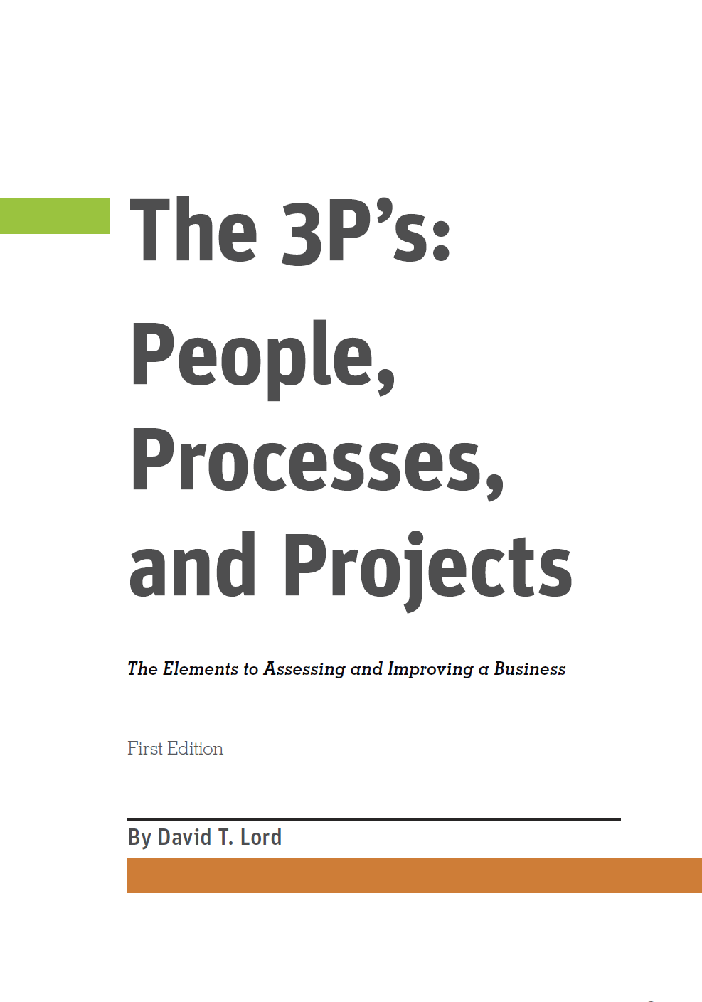 The 3Ps (Coming Soon)